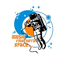 Music from outta Space Photographic Print