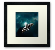 Wormhole Opening Framed Print