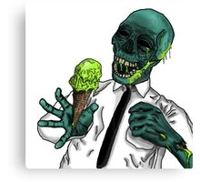 We All Scream for Radiation Poisoning! Canvas Print