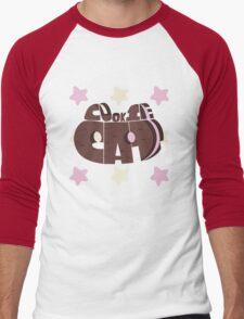 Cookie cat Men's Baseball ¾ T-Shirt