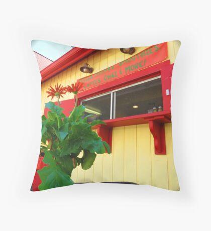 South Haven, MI | Williams Street Throw Pillow