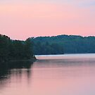 Lakeside Sunset  by hummingbirds