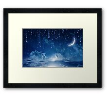 A sky full of stars Framed Print