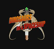 Dinosaurs on a Spaceship Unisex T-Shirt