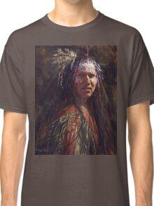 Ever Watchful, Crow, Native American Art, James Ayers Studios Classic T-Shirt