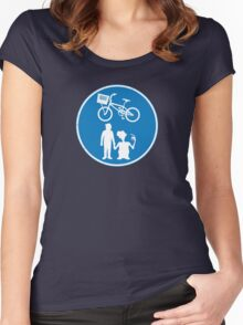 Share the sky (UK version) Women's Fitted Scoop T-Shirt