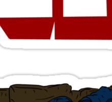 Sherlock Smash Sticker