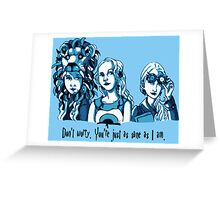 Loony Lovegood Greeting Card