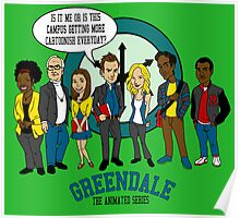 Greendale the Animated Series Poster