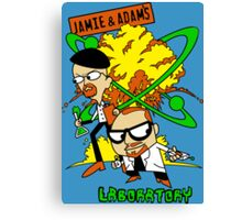 Jamie and Adam's Lab Canvas Print
