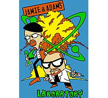 Jamie and Adam's Lab Photographic Print
