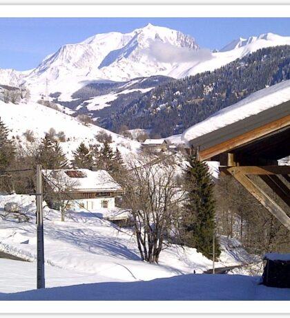 Mont-Blanc France Sticker