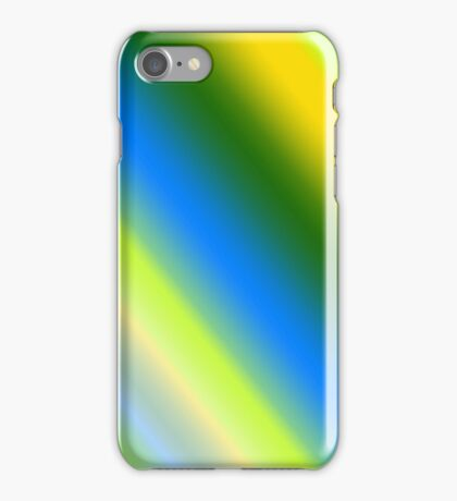 Lemon & Lime Stripes iPhone Case/Skin