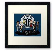 Fringe the Animated Series Framed Print