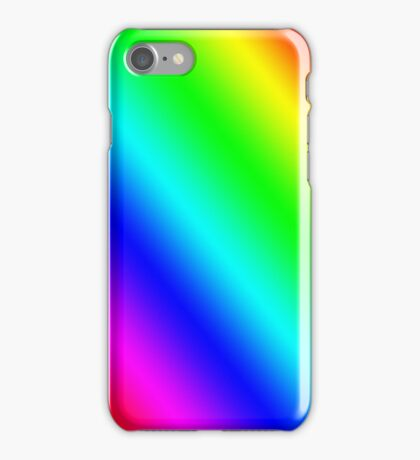Rainbow Stripes iPhone Case/Skin