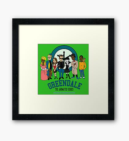 GTAS: Six Seasons and a Movie Edition Framed Print