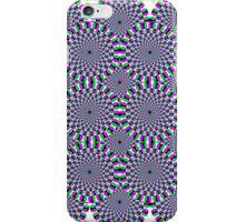 Spinning circles illusion iPhone case. iPhone Case/Skin