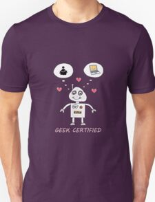 Geek certified T-Shirt