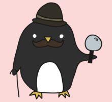 Sherlock Penguin Baby Tee
