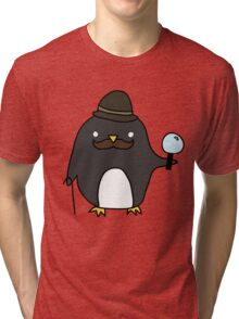 Sherlock Penguin Tri-blend T-Shirt