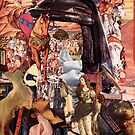 Renaissance Collage, The Lost Knight. by nawroski .