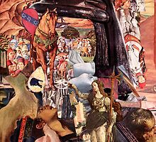 Renaissance Collage, The Lost Knight. by - nawroski -
