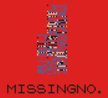 MissingNo Pixel Style - Pokemon Gameboy - Retro game fan shirt!  One Piece - Short Sleeve