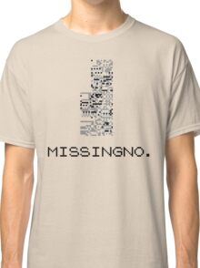 MissingNo Pixel Style - Pokemon Gameboy - Retro game fan shirt!  Classic T-Shirt
