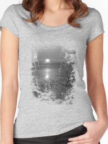 Reflection. Women's Fitted Scoop T-Shirt