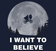 I Want To Believe In E.T. Kids Clothes