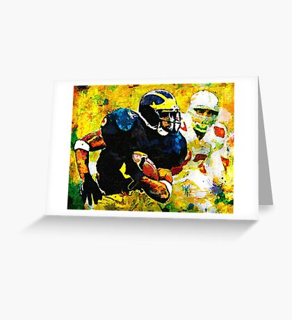 I'm The Man At The Big House Greeting Card