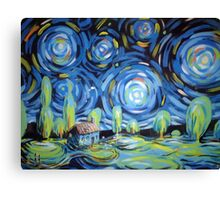 iberian nights Canvas Print