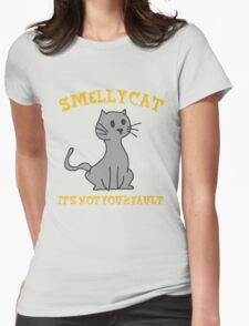Smelly Cat Womens Fitted T-Shirt