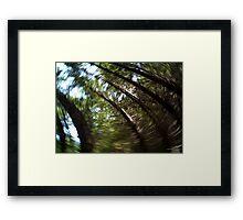 Swirl... Framed Print