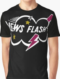 Muppet News Flash - Logo Design  Graphic T-Shirt