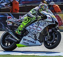 Valentino Rossi at laguna seca 2010 by corsefoto