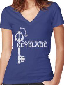 KH: Better than the gun Women's Fitted V-Neck T-Shirt