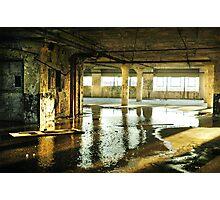 Water Damage Photographic Print