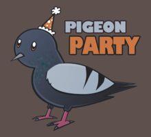 Pigeon Party by Stephanie Tatoiu