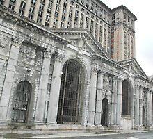 Detroit Train Station by Jennifer Hodney