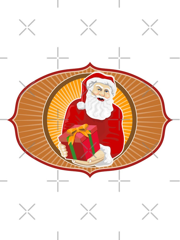 Santa Claus Father Christmas Retro by patrimonio