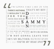 He's my brother (black text) by scaredywolf