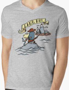 Land Ho! Mens V-Neck T-Shirt