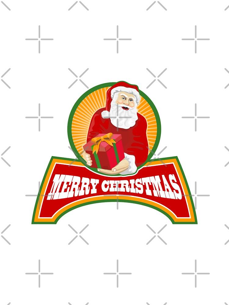 Merry Christmas Santa Claus by patrimonio