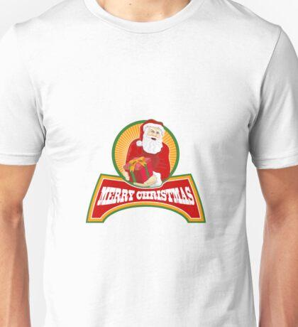 Merry Christmas Santa Claus Unisex T-Shirt