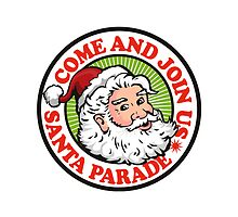 Father Christmas Santa Claus Parade by patrimonio