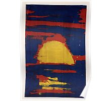 Primary Sunset Poster