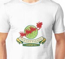 Santa Claus Christmas Globe Reindeer Unisex T-Shirt