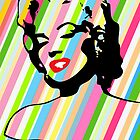 Marilyn Monroe - Forever - Pop Art by wcsmack