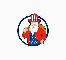 American Father Christmas Santa Claus Unisex T-Shirt